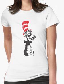Nuke-A-Seuss basic Street Art Stencil Womens Fitted T-Shirt