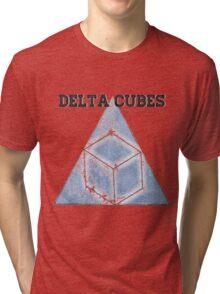 Abed's Delta Cubes Tri-blend T-Shirt