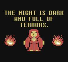 The Night Is Dark by AJ Paglia