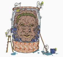 Face of Boe getting a wash Kids Tee