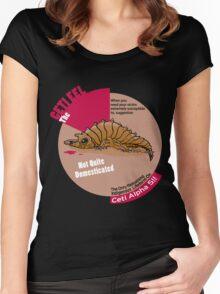 Ceti Eel Women's Fitted Scoop T-Shirt