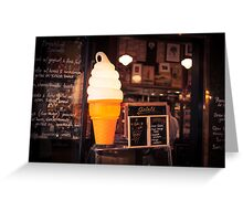 Ice Cream Stand Greeting Card