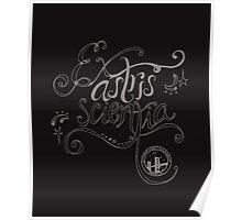 Ex astris scientia. Poster
