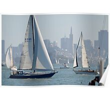 Sunday Sailing Poster
