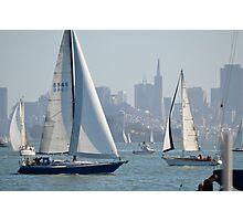 Sunday Sailing Photographic Print