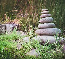 Zen Stones by jamjarphotos