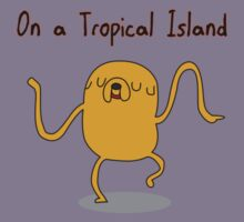 Adventure Time On a Tropical Island Kids Clothes