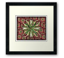 ©DA The December Fractal Framed Print