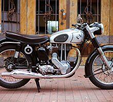 Norton 19S Vintage English Motorcycle by jamjarphotos