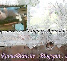 reading with Naughty Agneshka by Lara Biyuts