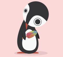 Pingu Loves Icecream Kids Tee