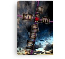 Crucifixion of the Soul Canvas Print
