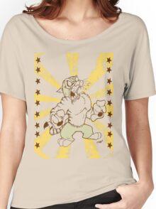 Lucha Libre cat Women's Relaxed Fit T-Shirt