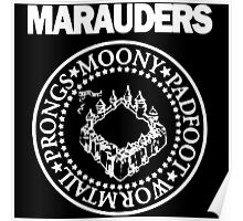The Marauders Map Harry Potter Logo Parody Poster