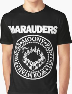 The Marauders Map Harry Potter Logo Parody Graphic T-Shirt