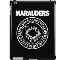 The Marauders Map Harry Potter Logo Parody iPad Case/Skin