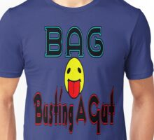 •·♥BAG:Busting A Gut Funny Chatting Acronyms Clothing & Stickers♥·• Unisex T-Shirt
