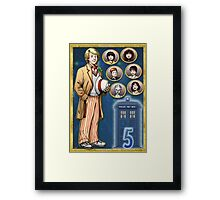 All Dash and Cricket Framed Print