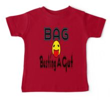 •·♥BAG:Busting A Gut Funny Chatting Acronyms Clothing & Stickers♥·• Baby Tee