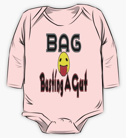 •·♥BAG:Busting A Gut Funny Chatting Acronyms Clothing & Stickers♥·• One Piece - Long Sleeve