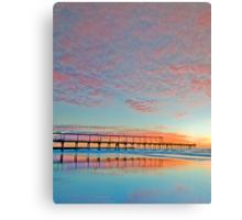 Pastel Sunrise - Gold Coast Qld Australia Canvas Print