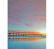 Pastel Sunrise - Gold Coast Qld Australia Photographic Print