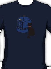 Kitty Who and the T.A.R.D.I.S T-Shirt