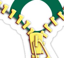 The Green Lantern zip Sticker