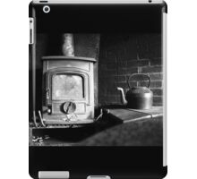 A cozy fireplace iPad Case/Skin