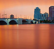 Salmon Sunset by DDMITR