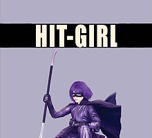 Kick Ass 2:Hit Girl Case by Marcel Putrus