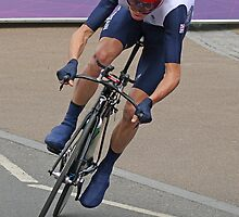 Chris Froome Bronze Medal Mens Time Trial - London 2012 by Colin J Williams Photography