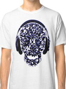°ღ♫Cool Vintage Feel Skull Listening to Music Clothing & Stickers♪ღ° Classic T-Shirt