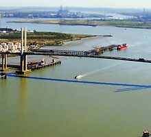 QE2 Bridge, Essex-Kent by magicalpencil