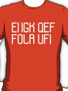 FUCK OFF (white) T-Shirt