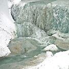 Half water - half ice by Arie Koene