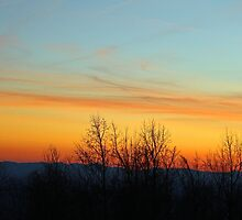 North Carolina Mountain Sunset by Cynthia48