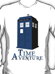 Time adventure DR WHO T-Shirt