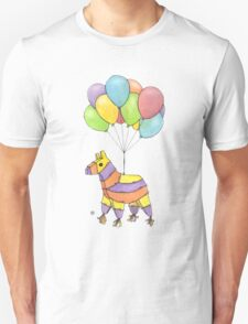 """Try and hit me now, suckers!"" said Piñata.  T-Shirt"
