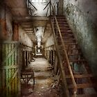 Jail - Eastern State Penitentiary - Down a lonely corridor by Mike  Savad
