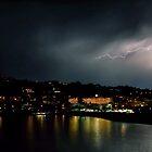 Lightning in Santa Ponsa by Melanie Collette