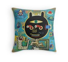 My toys  Throw Pillow
