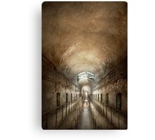 Jail - Eastern State Penitentiary - End of a jouney Canvas Print