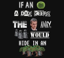 An Apple A Day......(Doctor Who) by Marjuned