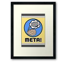 Metacognition Framed Print