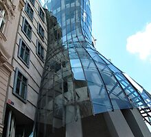 The Dancing House, Prague by lightworks