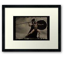 I Am Sparta Framed Print