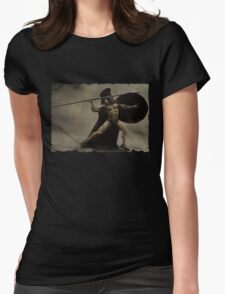 I Am Sparta Womens Fitted T-Shirt