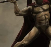 I Am Sparta Sticker