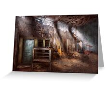 Jail - Eastern State Penitentiary - Sick Bay Greeting Card